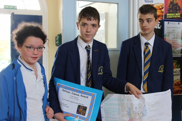 CONGRATULATIONS TO THE WINNERS OF OUR JUNIOR SCHOOL SCIENCE COMPETITION