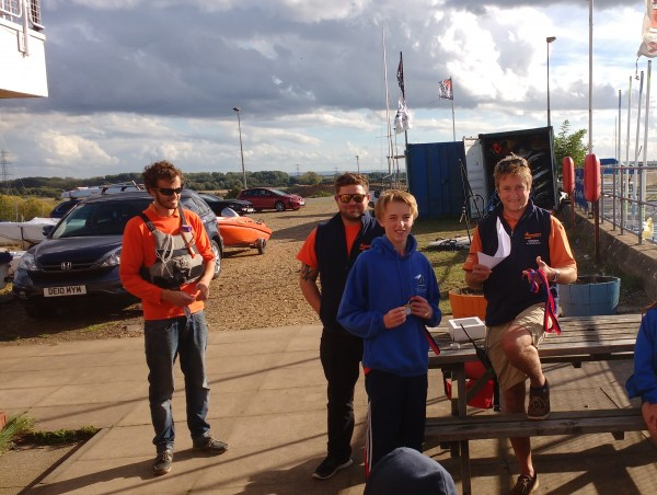 CONGRATULATIONS TO MATTHEW TAYLOR, WINNER OF THE FIRST ISA NATIONAL SAILING COMPETITION OF THE YEAR