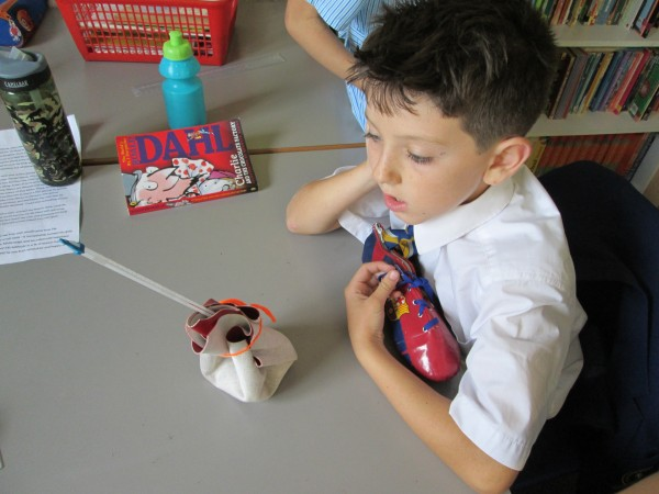 Lower School pupil enjoys being creative