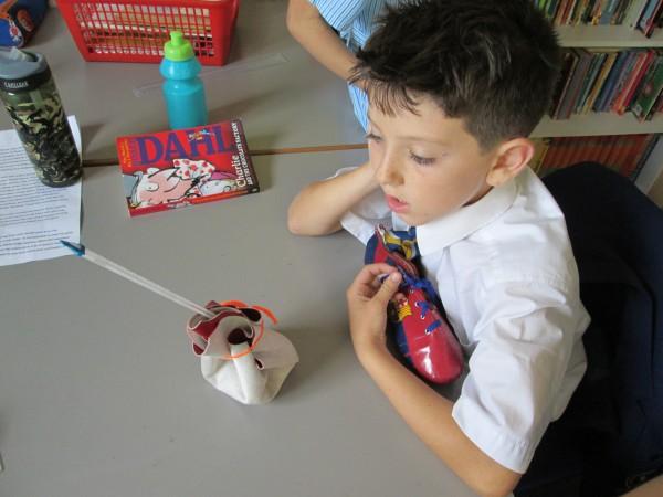 Lower School pupil enjoys being creative
