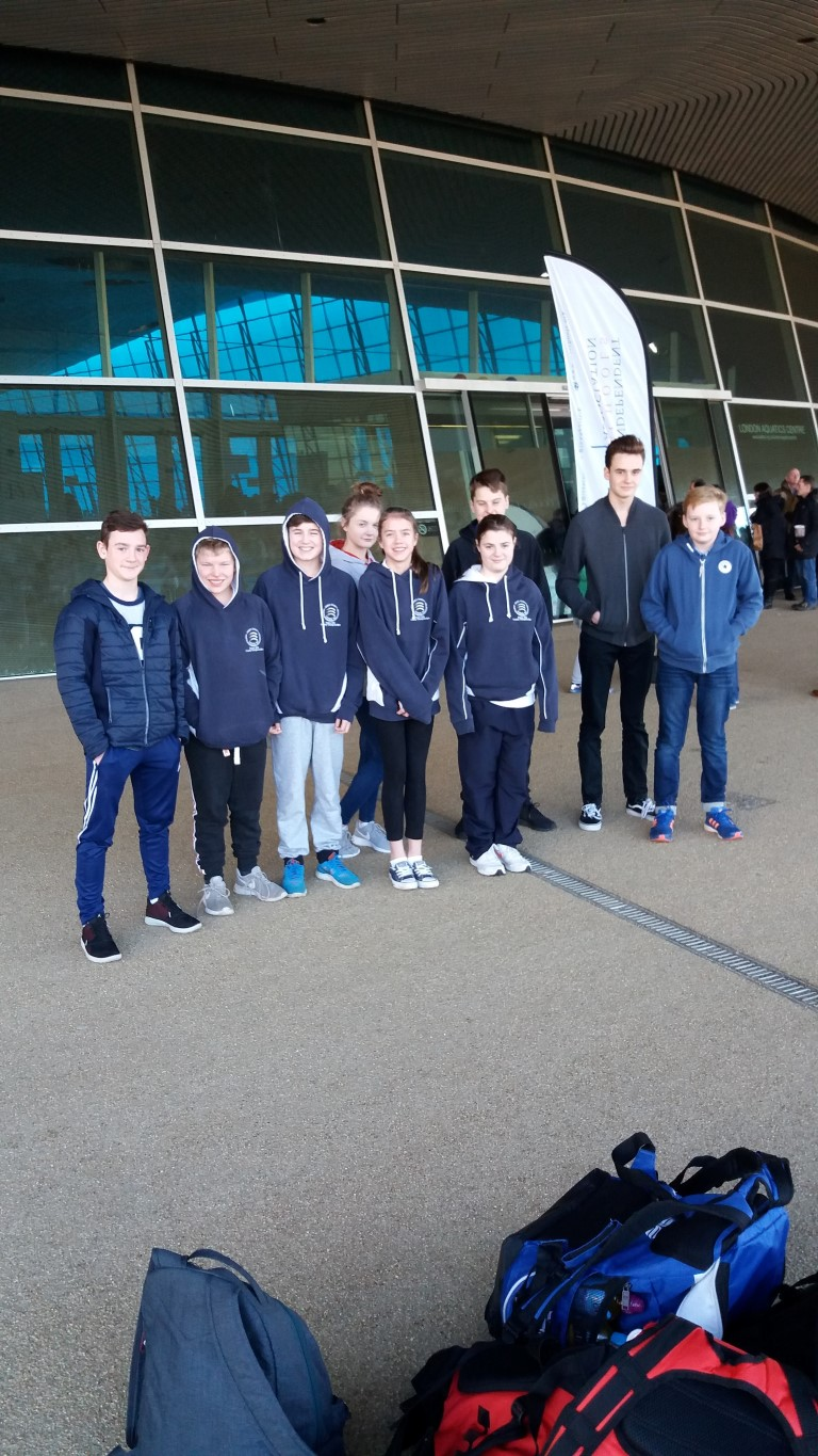 Colchester High School ISA National Swimming Championship Success group photo