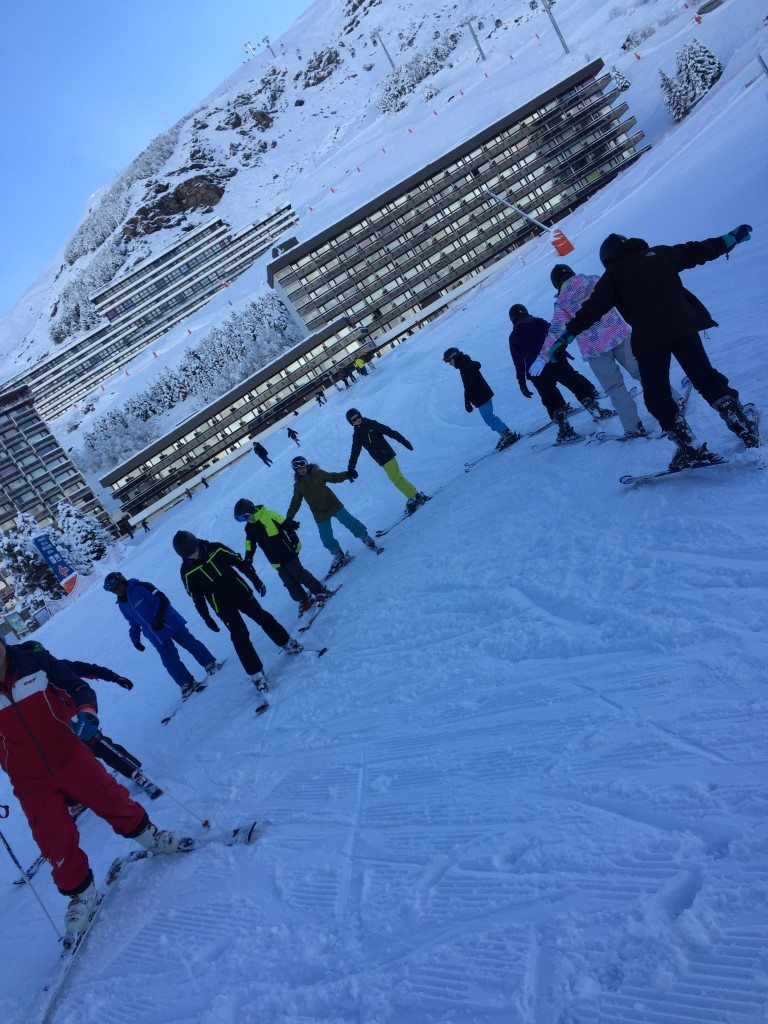 CHS pupils enjoy ski trip abroad