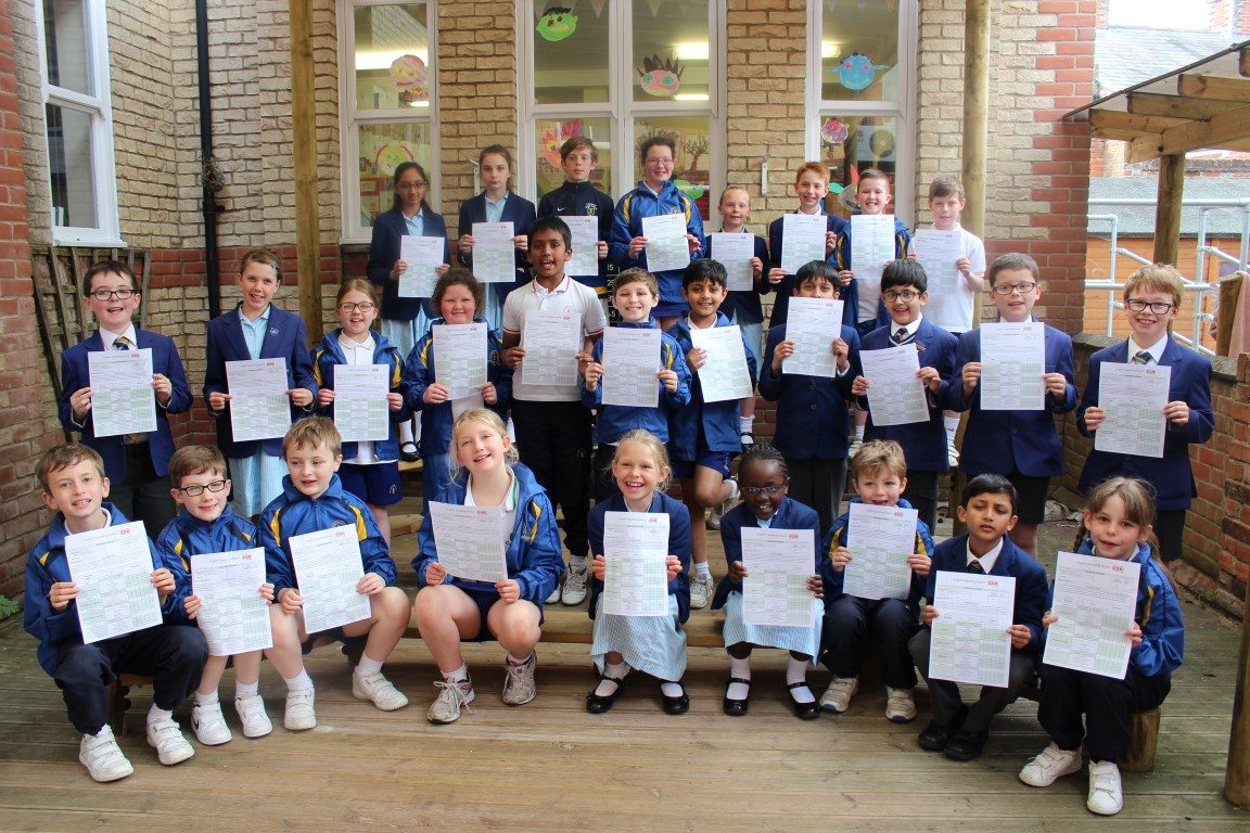 Junior School Excel Once Again at the ESB Exam