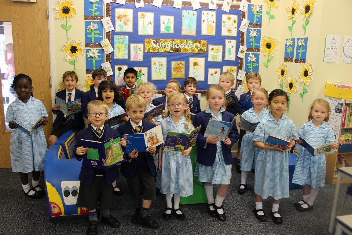 Reception Pupils Celebrate Being More than One Year Ahead with Reading