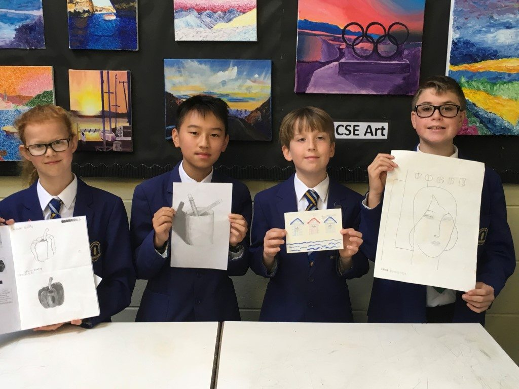 Congratulations to our Design A Postcard Winners