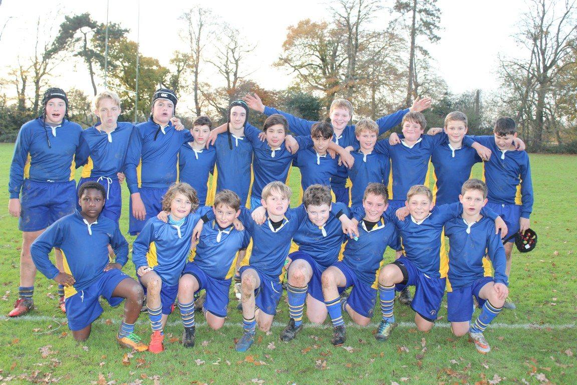 Year 7 & 8 Rugby Team Triumph