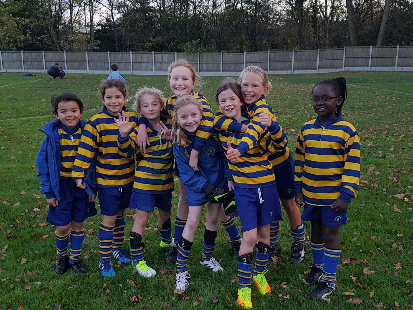 Another Terrific Win by Our Under 9 Girls Football Team