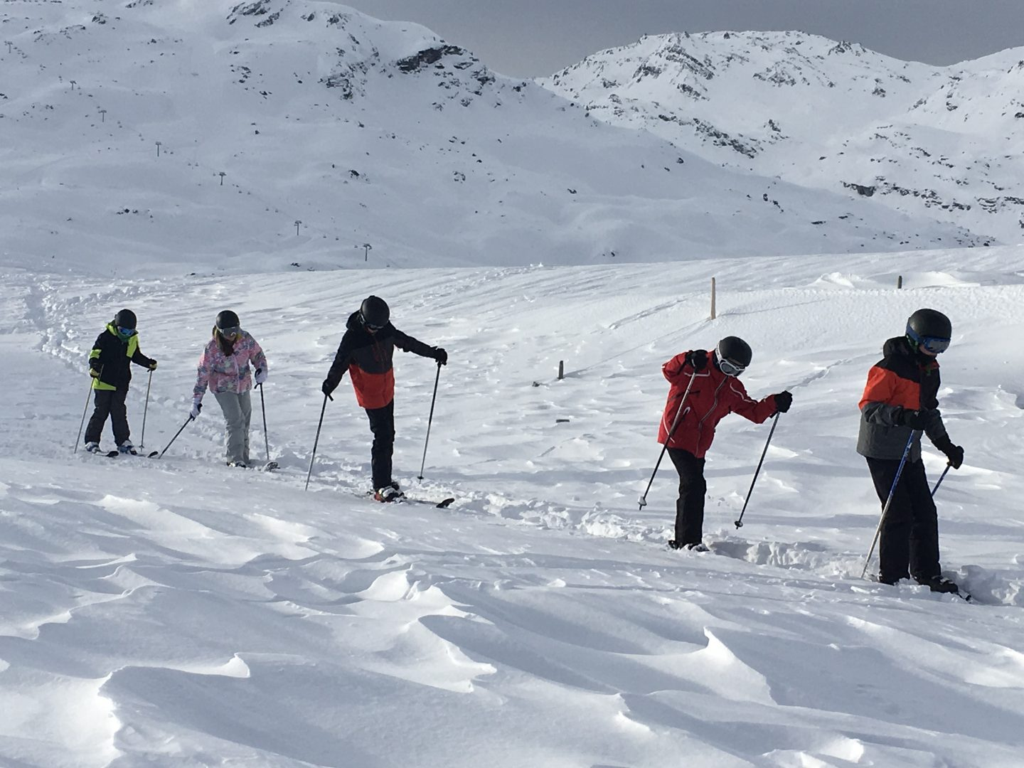 CHS pupils ski on ski trip 2018