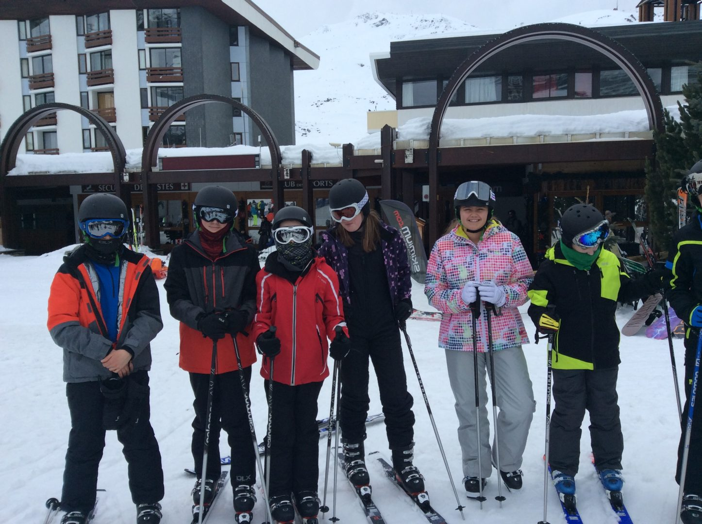 Les Menuires Senior School Ski Trip Blog - Day 2