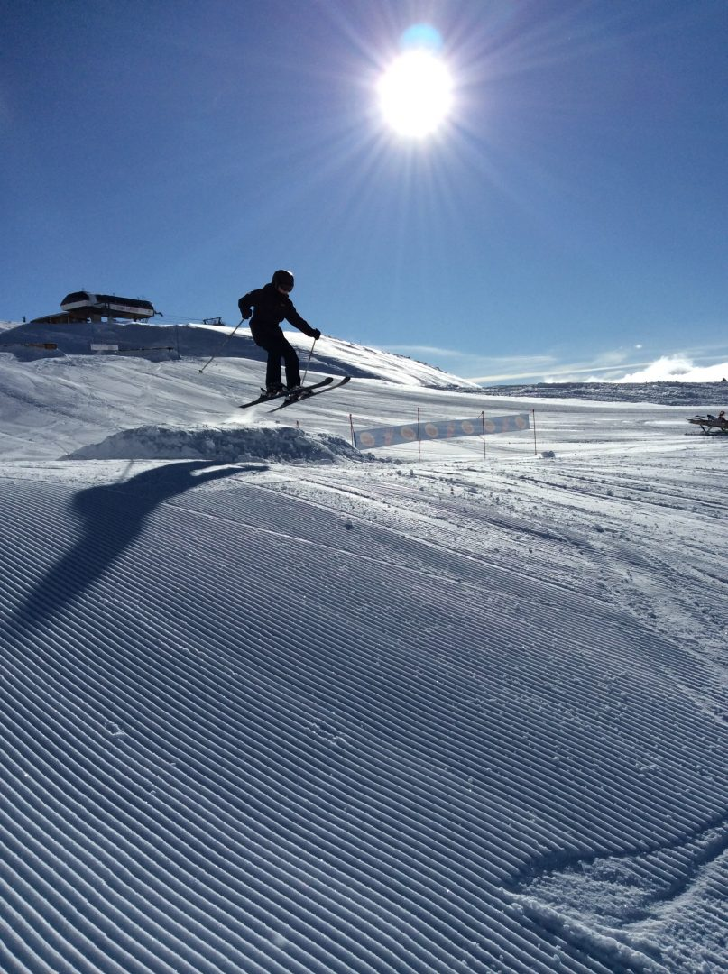 CHS pupil launches into the air from ski slope