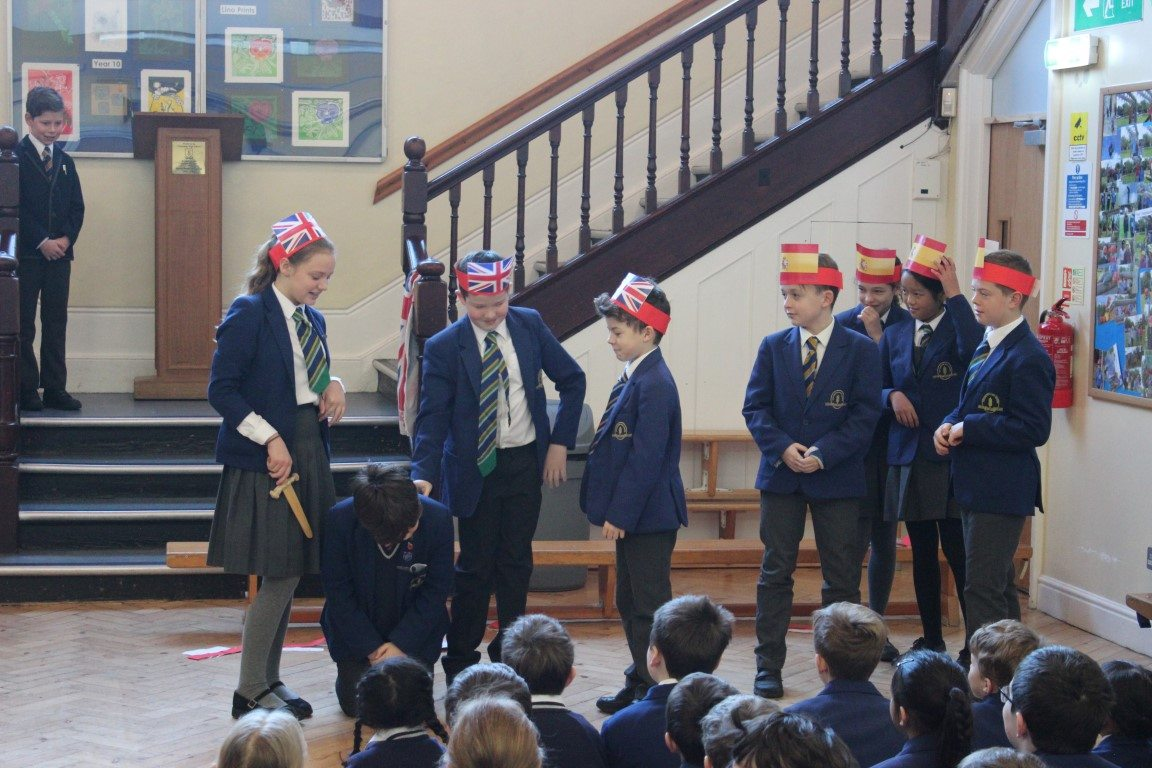 Teaching Pupils and Parents About the Spanish Armada - 6B Assembly