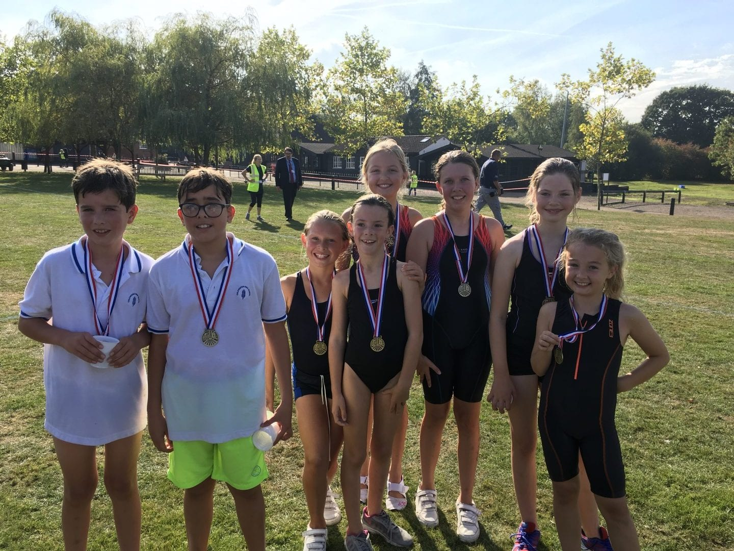 Great Performances by CHS at the ISA Triathlon